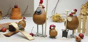 Hühnerei und Hahn l Serie: Die Selbstversorger