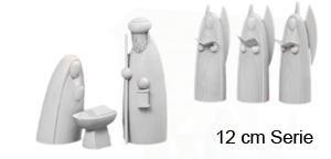 Krippen - weiß Emil A. Schalling 12 cm