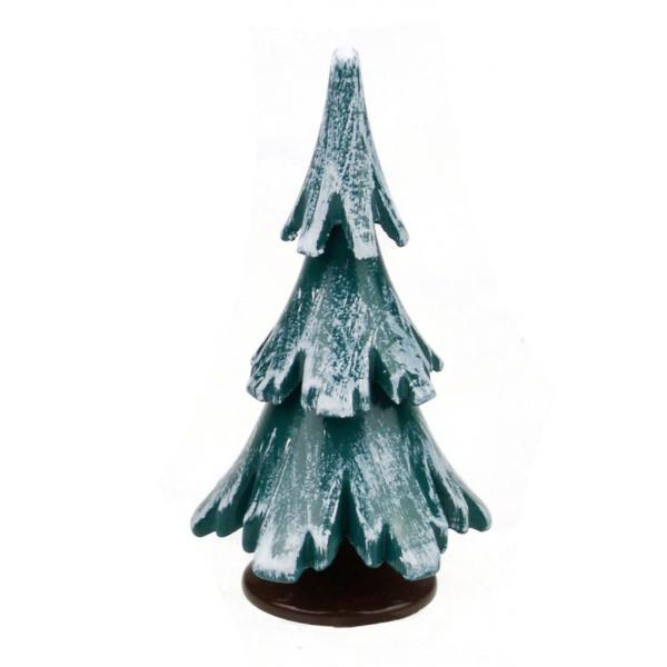 Gahlenz - Baum grün-weiß lackiert 6,5 cm