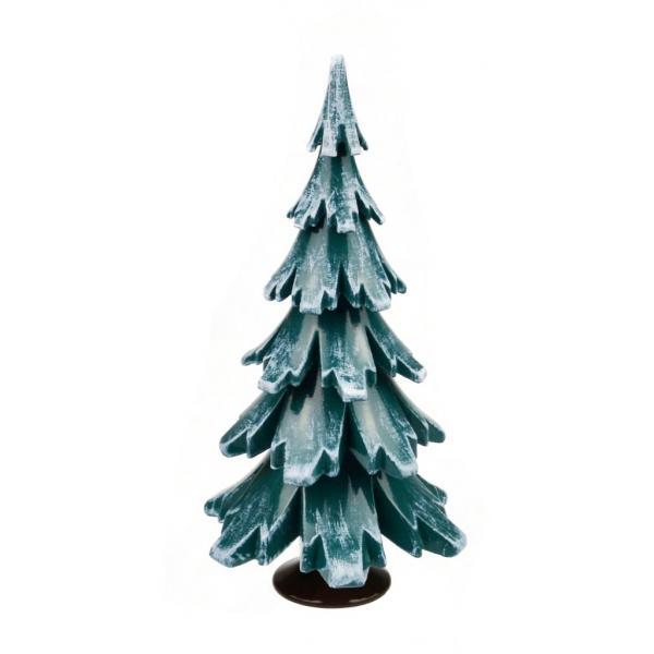 Gahlenz - Baum grün-weiß lackiert 12,5 cm