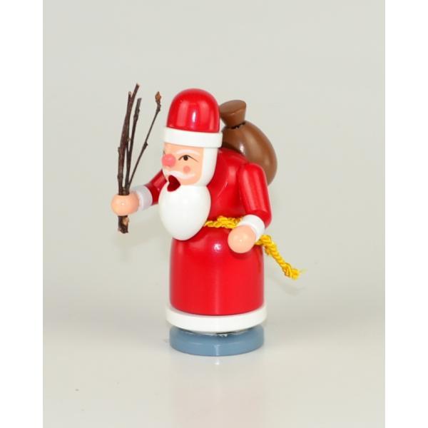 Gahlenz - Räuchermann Weihnachtsmann mini 10,- cm