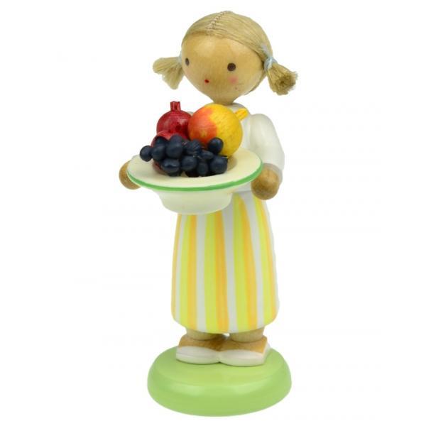 Werkstätten Flade - Mädchen mit Obstteller