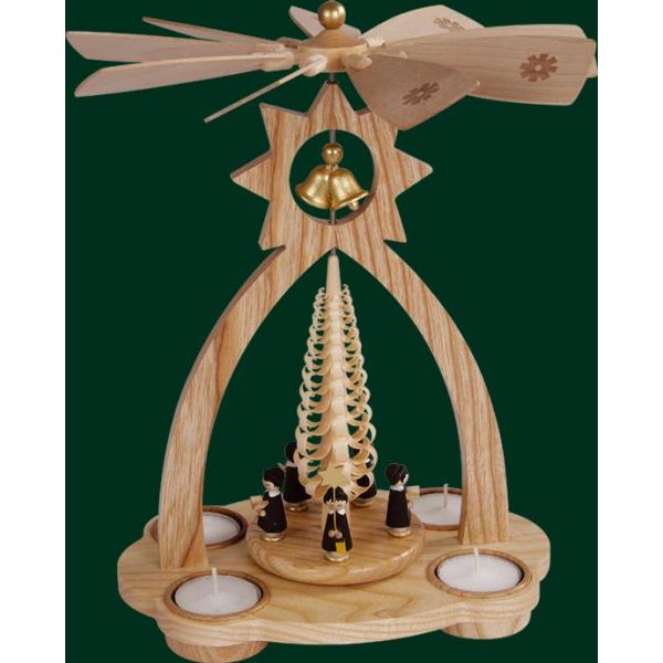 Richard Glässer - Glockenpyramide für Teelichte, Kurrende