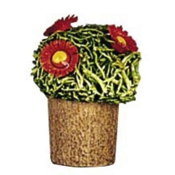 Günter Reichel - Blumentopf mit Blüten