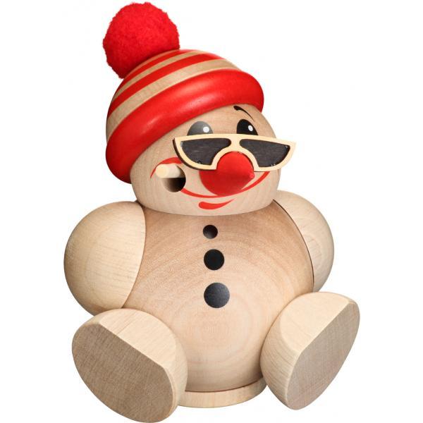 Seiffener Volkskunst eG - Kugel - Räuchermann Cool Man mit Mütze