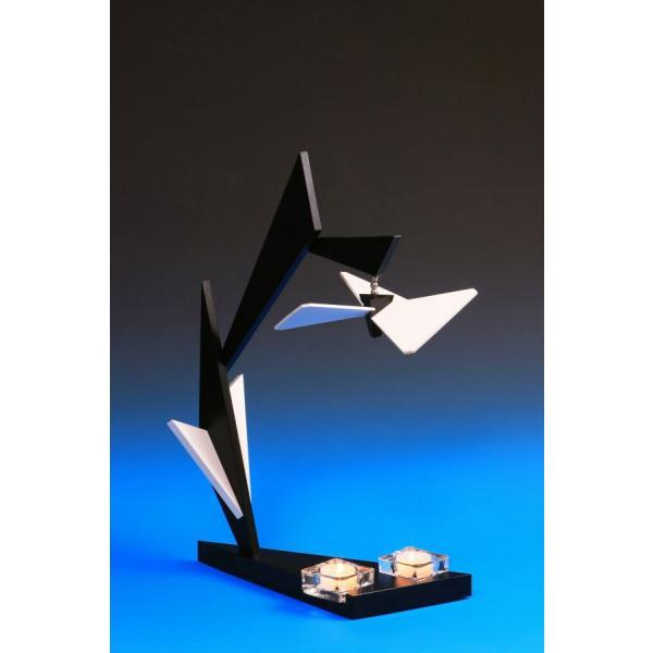 Schalling - Pyramide Flügelträumer -Eisblume- Magnetisch