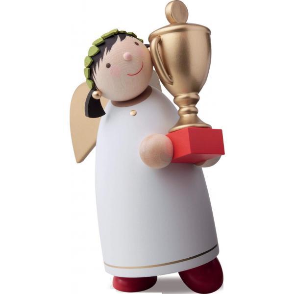 Günter Reichel - Schutzengel mit Gewinner- Pokal