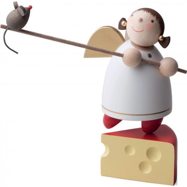 Günter Reichel - Schutzengel auf Käse balanceierend