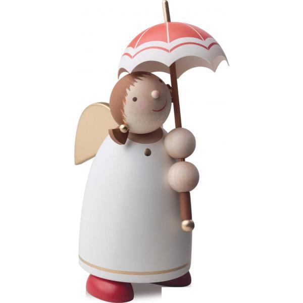 Günter Reichel - Schutzengel mit Schirm, Beige