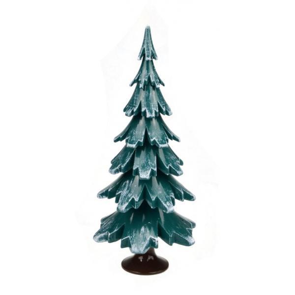 Gahlenz - Baum grün-weiß lackiert 15,5 cm