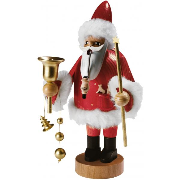KWO - Räuchermann Santa Claus rot