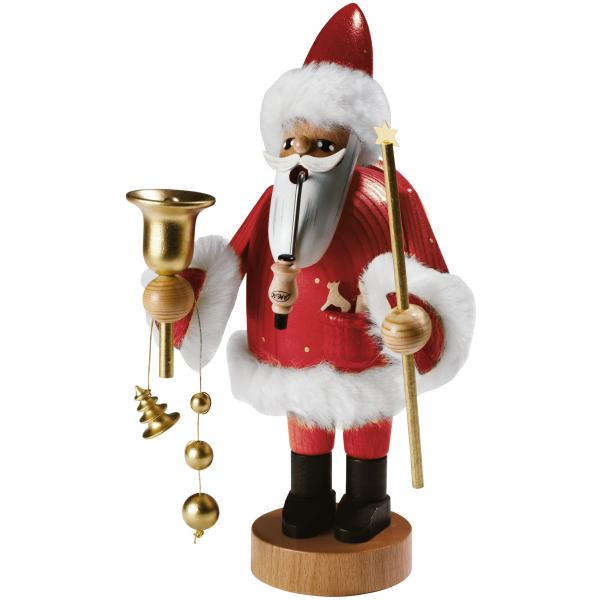 KWO - Räuchermann Santa Claus, rot, groß