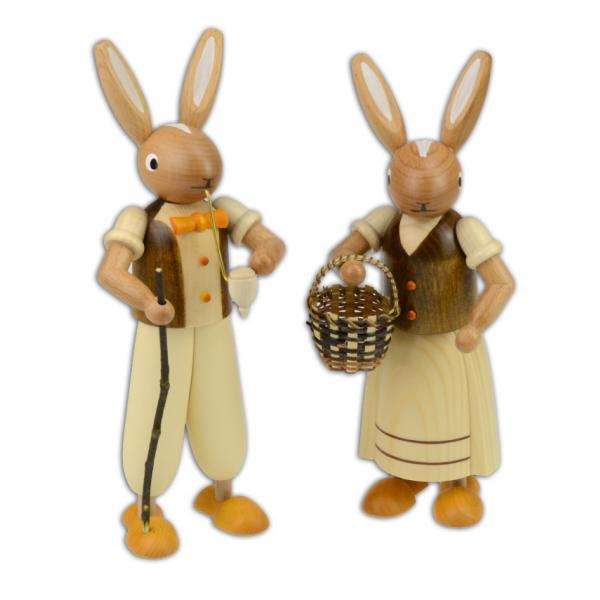Wolfgang Braun - Osterhasenpaar, braun