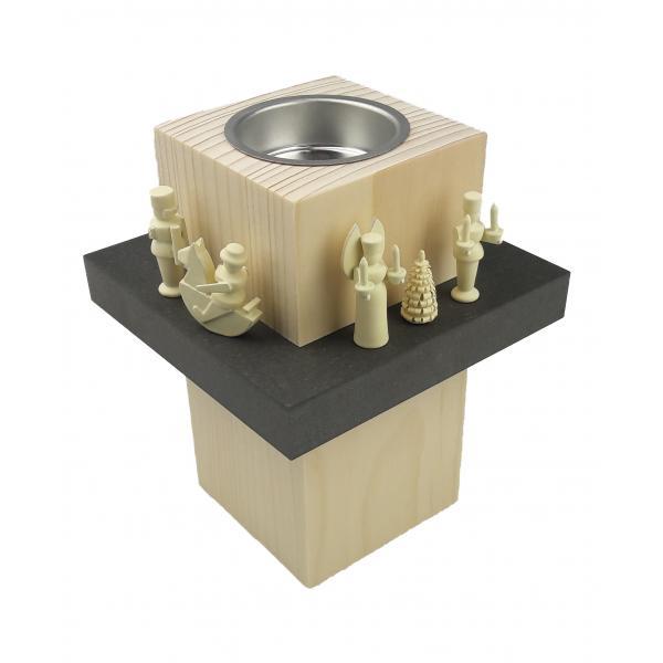Wolfgang Braun - Leuchterstehle mit Miniaturen, groß