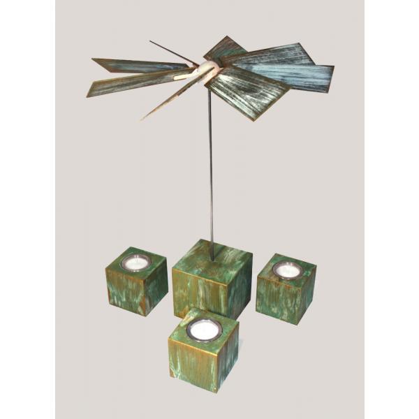 Rauta Edition FG - moderne Würfelpyramide