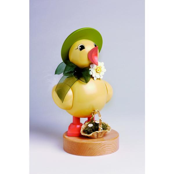 KWO - Frühlingsküken mit grünen Hut