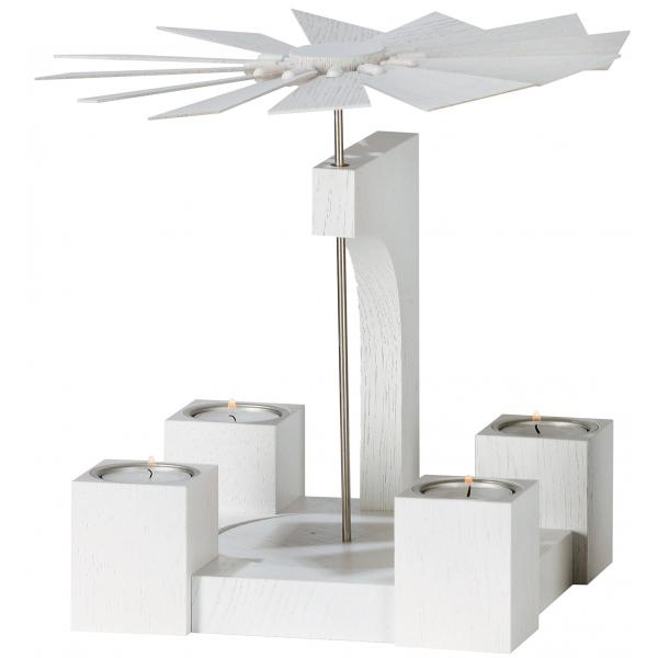 KWO - moderne Pyramide Eiche weiß