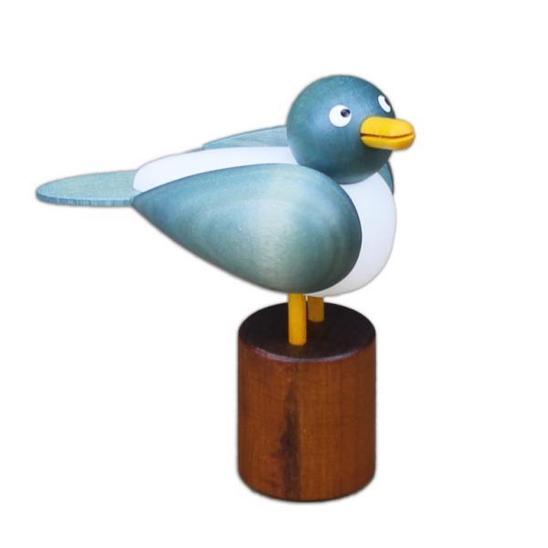 Drechslerei Martin - Möwe klein, hellblau