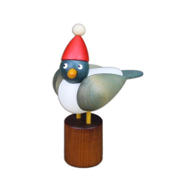 Drechslerei Martin - Weihnachtsmöwe klein, hellblau