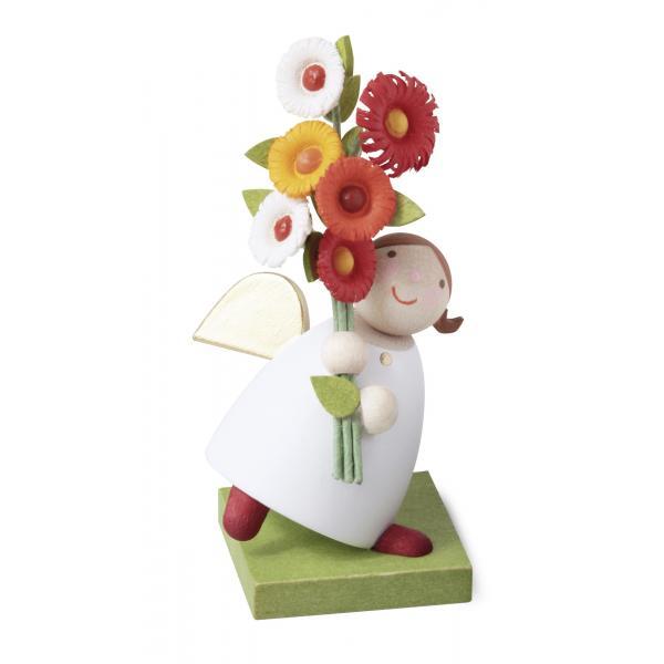 Günter Reichel - Schutzengel mit Blumen