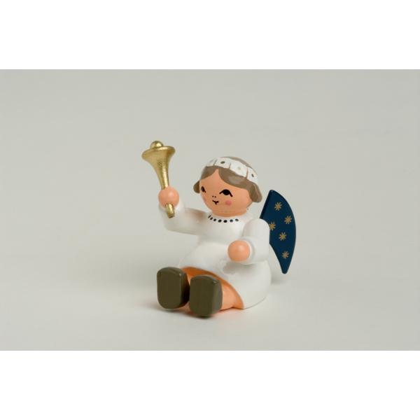 KWO - Engel, sitzend mit Glocke