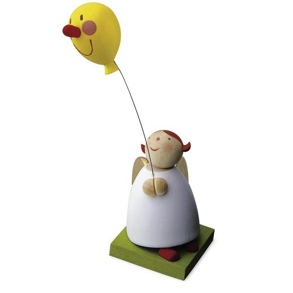 Günter Reichel - Schutzengel mit Luftballon mit Gesicht