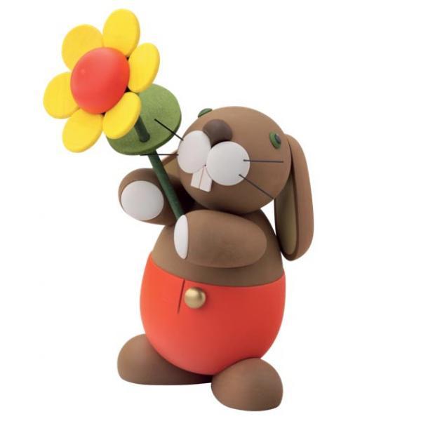Günter Reichel - Hosen Hase Hugo mit Sonnenblume