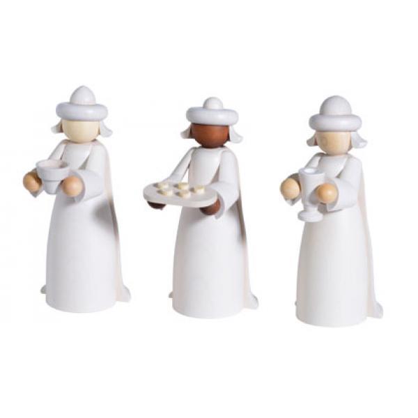 KWO - Figuren für Lichterbogen - Heilige drei Könige, 3 tlg.
