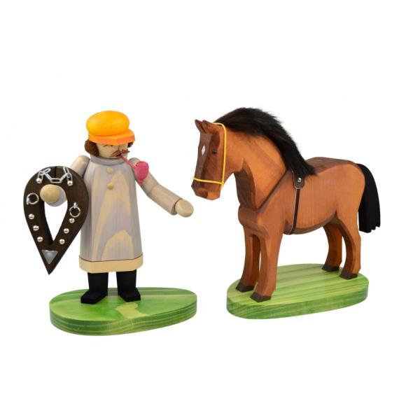 Wolfgang Braun - Räuchermann Kutscher mit Pferd