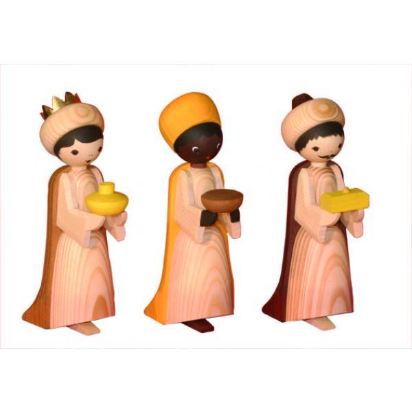 Ulmik - Heilige 3 Könige gebeizt 13cm