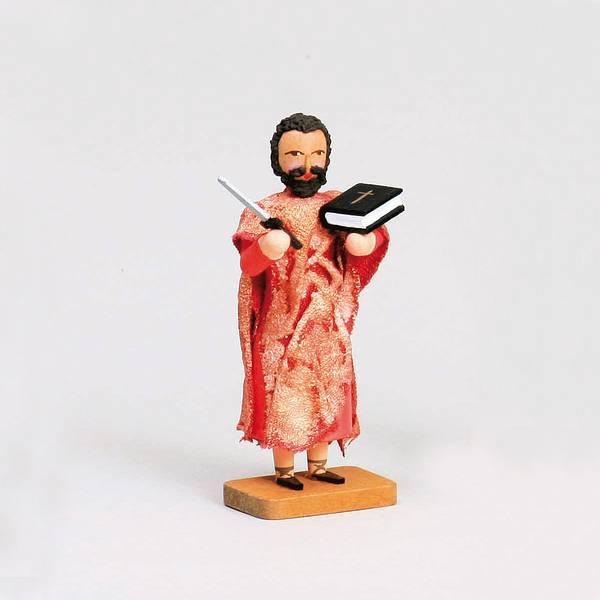 Walter Werner - Apostel Bartholomäus mit Messer und Buch