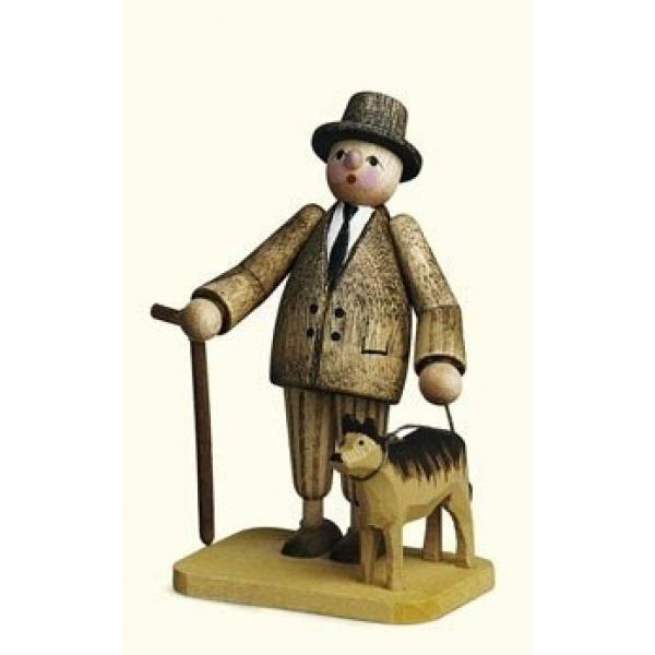 Günter Reichel - Herr mit Hund
