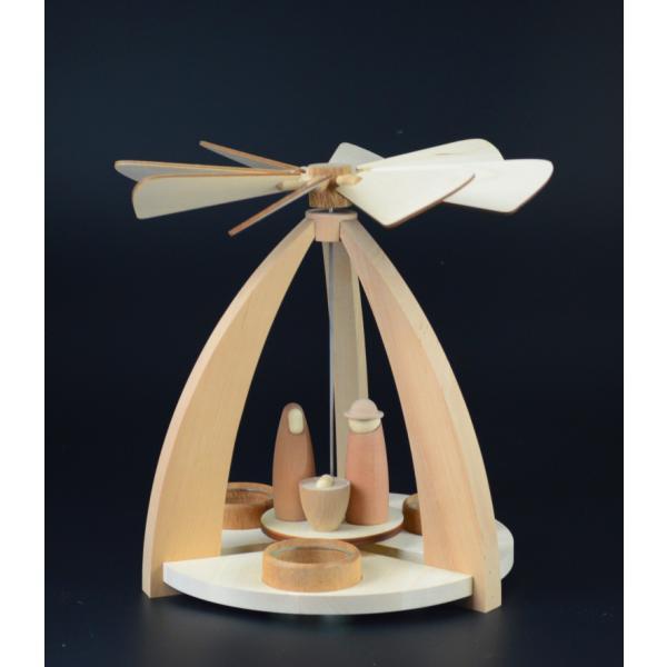 Rauta Edition FG  - Pyramide modernes Design mit Krippefiguren