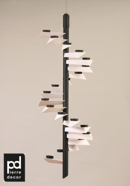 deckenpyramide helix modell color schwarz weiss moderne fachgesch ft aus. Black Bedroom Furniture Sets. Home Design Ideas