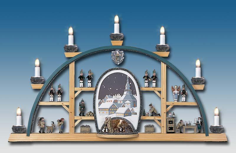 klaus kolbe schwibbogen seiffener kirche h hle moderne fachgesch ft aus. Black Bedroom Furniture Sets. Home Design Ideas