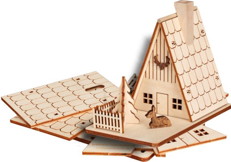 seiffener volkskunst eg r ucherhaus forsthaus zum selber bauen moderne. Black Bedroom Furniture Sets. Home Design Ideas