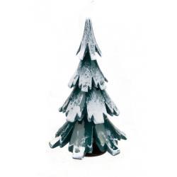 Gahlenz - Baum grün-weiß lackiert 9,5 cm