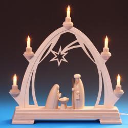 Schalling - Gotischer Schwibbogen mit Heiliger Familie