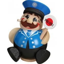 Seiffener Volkskunst eG - Kugel - Räuchermann Polizist