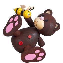 Kunibärt mit frecher Biene