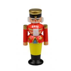 Wolfgang Braun - Miniatur Nußknacker rot