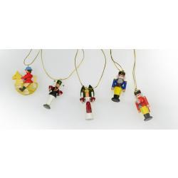 Wolfgang Braun - Miniatur Baumbehang, erzgebirgische Miniaturen, fünfteilig