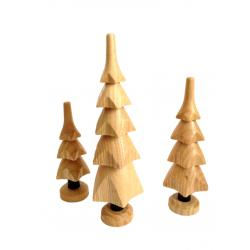 Spielwarenmacher Günther - 3er Satz Bäume natur