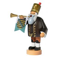 KWO - Räuchermann Bergmann mit Trompete