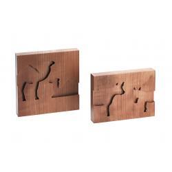 Kneisz Design - Reliefs - Ochse, Esel und Kamele