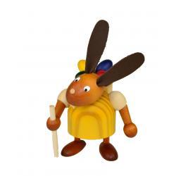 Drechslerei Martin - Hase mit Eikiepe gelb, klein