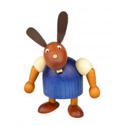 Drechslerei Martin - Hase stehend blau