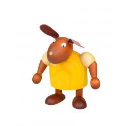 Drechslerei Martin - Hase stehend gelb