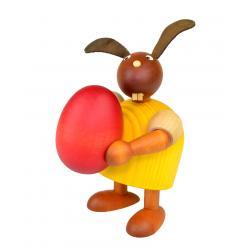 Drechslerei Martin - Hase mit Ei gelb