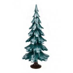 Gahlenz - Baum grün-weiß lackiert 24,5 cm